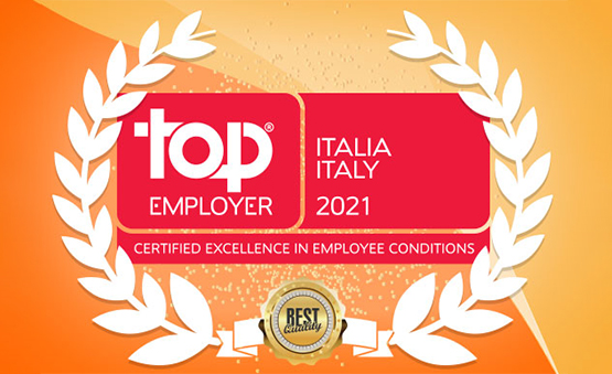 WINDTRE si riconferma Top Employer Italia anche nel 2021