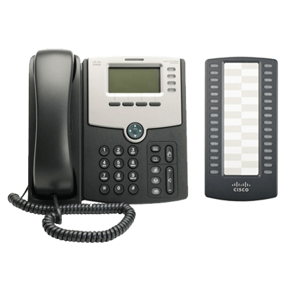 IP - PHONE LUXE CISCO SPA 504G + SPA500S